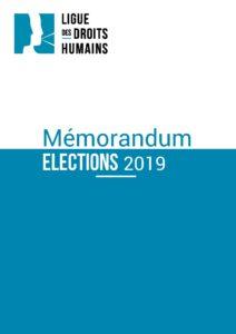 Mémorandum LDH 2019